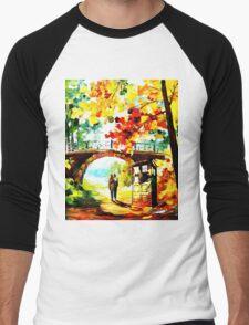 tardis scenery  Men's Baseball ¾ T-Shirt