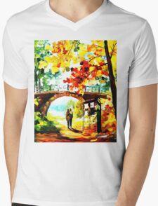 tardis scenery  Mens V-Neck T-Shirt