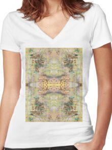100 Days: 30/100 Women's Fitted V-Neck T-Shirt