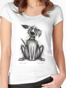 Fuzzy Fred Women's Fitted Scoop T-Shirt