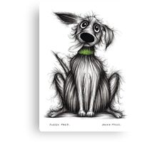Fuzzy Fred Canvas Print