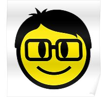 Smart Smiley Poster