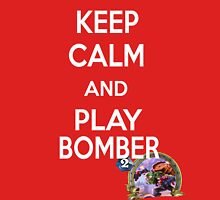 Keep Calm And Play Bomber Unisex T-Shirt
