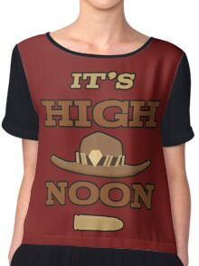 High Noon Women's Chiffon Top