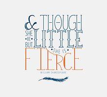 She Is Fierce by synthiat
