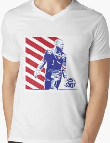 Tim Howard Mens V-Neck T-Shirt
