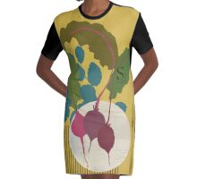 Beetroot Graphic T-Shirt Dress
