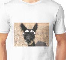 Fluffy Eared Pet Alpaca Unisex T-Shirt