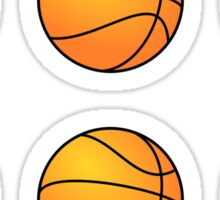 Basketballs Sticker