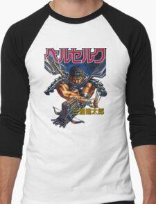 Black Swordsman Men's Baseball ¾ T-Shirt