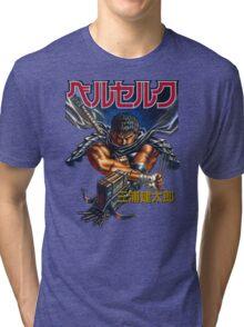 Black Swordsman Tri-blend T-Shirt