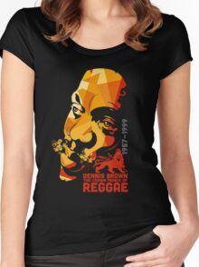The Crown Prince Of Reggae Women's Fitted Scoop T-Shirt