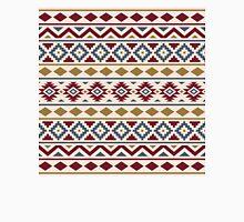 Aztec Essence Ptn III Red Blue Gold Cream Unisex T-Shirt