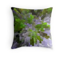 Green is the colour Throw Pillow