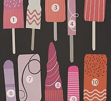 Ice Lollies by Sarah Jarrett
