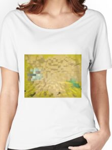Columns of yellow Women's Relaxed Fit T-Shirt