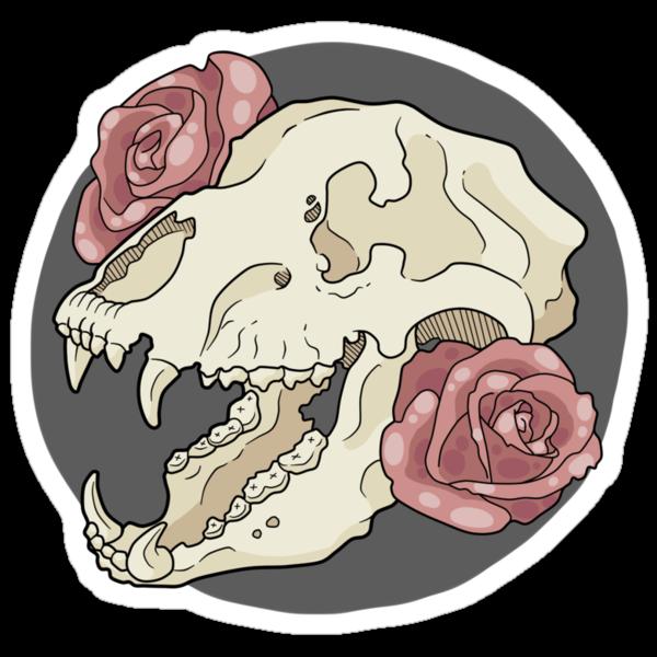 Bear & Roses by Hannah Ward