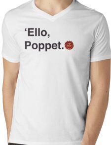 'Ello Poppet. Mens V-Neck T-Shirt