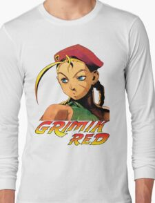 Cammy street fighter Long Sleeve T-Shirt