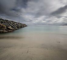 Cottelsoe Beach Groyne, WA by Penny Lord