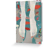 Barefoot Greeting Card