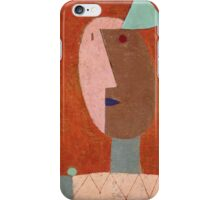 Paul Klee - Clown. Abstract painting: abstract art, geometric, expressionism, composition, lines, forms, creative fusion, spot, shape, illusion, fantasy future iPhone Case/Skin