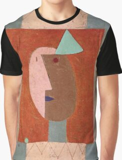 Paul Klee - Clown. Abstract painting: abstract art, geometric, expressionism, composition, lines, forms, creative fusion, spot, shape, illusion, fantasy future Graphic T-Shirt