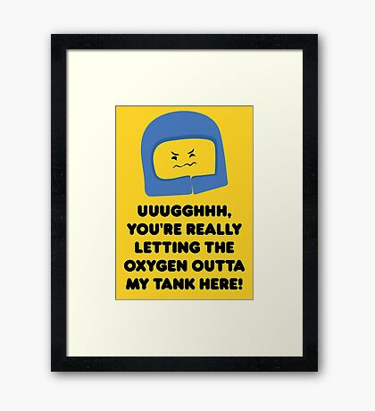Lego Movie - Benny Quote Framed Print