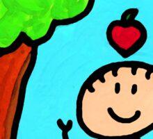 Happi Arti 6 - Sir Isaac Newton Art  Sticker
