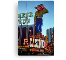 Las Vegas Downtown Canvas Print