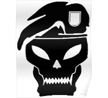 skull army Poster