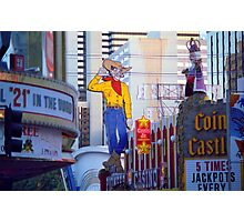 Las Vegas Downtown Photographic Print