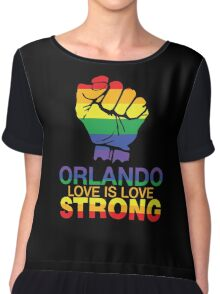 Love Is Love, LGBT For Orlando Chiffon Top
