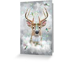 Dream By Day (Rain-deer Dreams) v.2 stormy Greeting Card