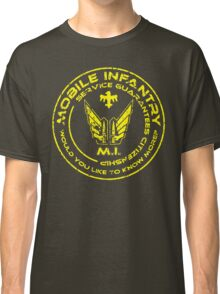 Starship Troopers - Mobile Infantry Classic T-Shirt
