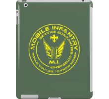 Starship Troopers - Mobile Infantry iPad Case/Skin