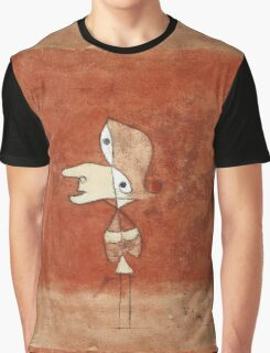 Paul Klee - Portrait Of Brigitte. Abstract painting: abstract art, geometric, bird, woman, lines, forms,  Figure, spot, shape, illusion, fantasy future Graphic T-Shirt