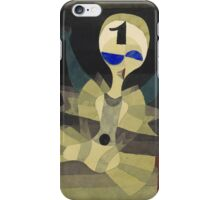 Paul Klee - Runner At The Goal. Abstract painting: abstract art, geometric, Runner , composition, lines, forms, creative fusion, spot, shape, illusion, fantasy future iPhone Case/Skin