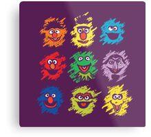 Every colors on Sesame Metal Print