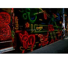 street art, melbourne. australia Photographic Print