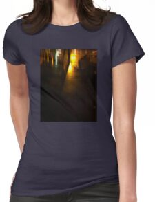 Night reflections Womens Fitted T-Shirt