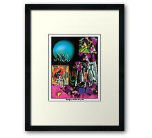 Astrology Series: Aquarius Framed Print