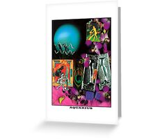 Astrology Series: Aquarius Greeting Card