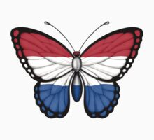 Dutch Flag Butterfly Kids Clothes