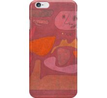 Paul Klee - The Man Of Confusion. Abstract painting: abstract art, geometric,  Man , Confusion, lines, forms, creative fusion, spot, shape, illusion, fantasy future iPhone Case/Skin