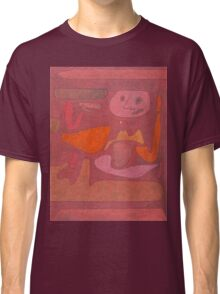 Paul Klee - The Man Of Confusion. Abstract painting: abstract art, geometric,  Man , Confusion, lines, forms, creative fusion, spot, shape, illusion, fantasy future Classic T-Shirt