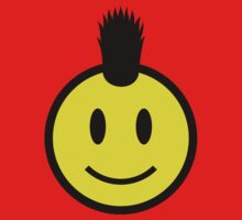 Punk Smiley Kids Tee