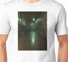 In a dark alley Unisex T-Shirt
