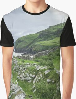 Muckross Coast, Kilcar, Co. Donegal Graphic T-Shirt