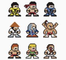 8-bit Mortal Kombat 1 by groundhog7s